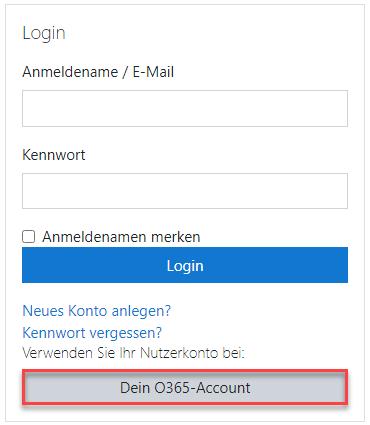 OneKlick-Registrierung